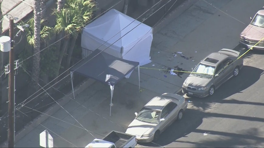 2 dead, multiple people shot in Wilmington neighborhood; LAPD investigating