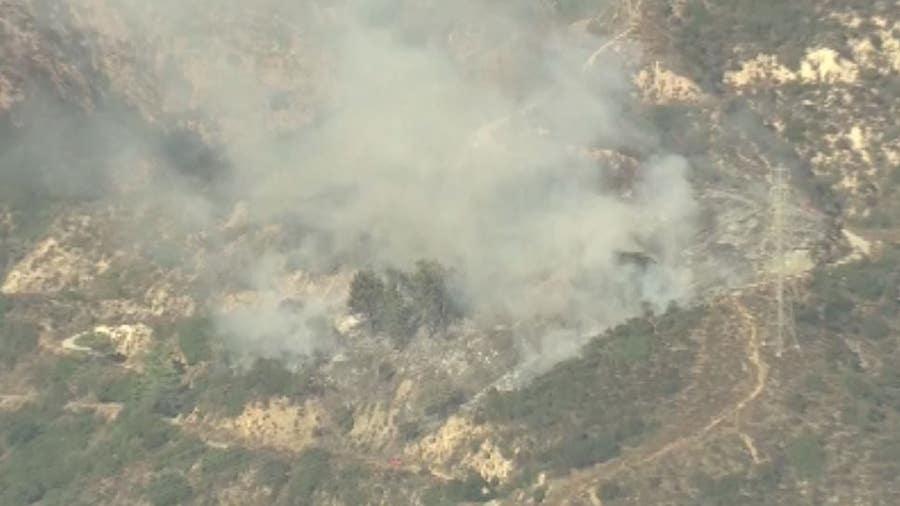 Fire crews battling blaze in Altadena