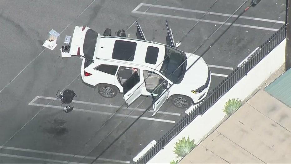 Police officer taken to hospital after possible fentanyl