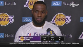 LeBron James responds to China controversy
