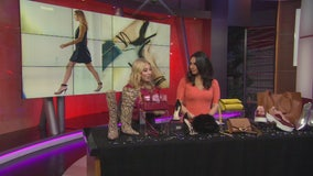 Fall shoe and bag trends on a budget with Sydney Sadick
