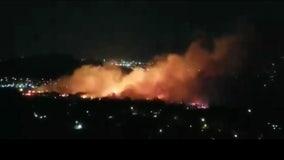 Fast-spreading '46 Fire' breaks out in Jurupa Valley following pursuit