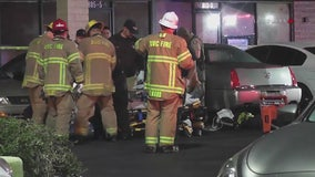 Man rushed to hospital following Moreno Valley hit-and-run dies; suspect sought
