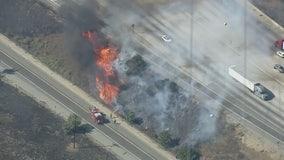 Brea Fire: 16-acre brush fire in Diamond Bar under control