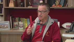 Dr. Arthur C. Bartner is retiring after 50 years directing the USC Trojan Marching Band