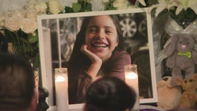 Many attend vigil for 10-year-old Santa Ana girl as police investigate her death, bullying rumors