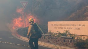 Ronald Reagan Presidential Library threatened after new wildfire erupts north of Los Angeles