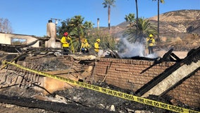 Hillside Fire destroys homes, forces evacuations in San Bernardino foothills