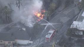 Little Mountain Fire destroys homes in San Bernardino