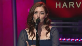 Mandy Harvey performs live on Good Day LA + backstage interview