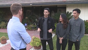 Porter Ranch family says thank you to FOX 11 crew who helped save their home during Saddleridge Fire