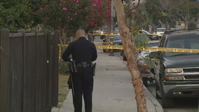 Dog shot by LAPD responding to an emergency call in South L.A.