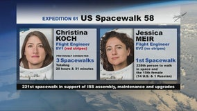 World's first all-female spacewalking team makes history