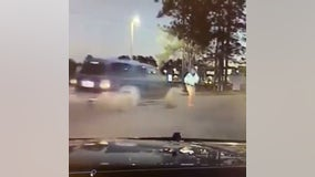 Shocking video shows deputy being hit by car