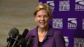 Sen. Warren says she'd vote to convict President Trump