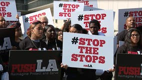 Groups demand LAPD overhaul policies, pay reparations for 'biased' policing