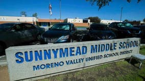 Two students arrested, one sought for allegedly attacking teacher at Moreno Valley school