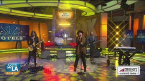 The Motels perform live on Good Day LA + backstage interview