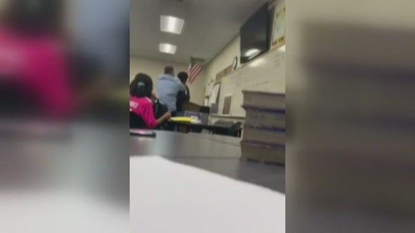 Video allegedly shows Lynwood High School teacher choking student