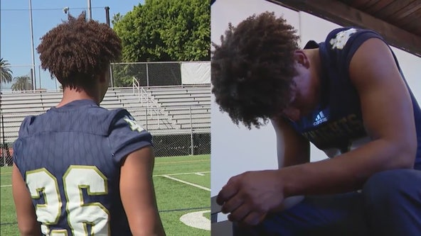 School Standouts: 16-year-old varsity football player credits God, faith for success on and off field