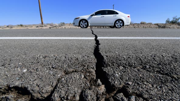 Ridgecrest quakes strained major fault, capable of 8.0 quake, according to new study