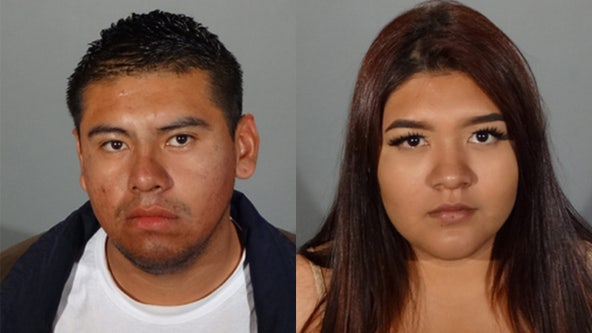 Woman and paroled man suspected in several commercial burglaries arrested in Glendale