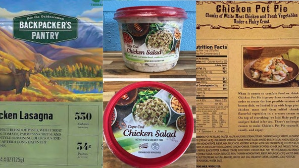 Recall expanded for chicken products sold at major retailers nationwide over listeria concerns