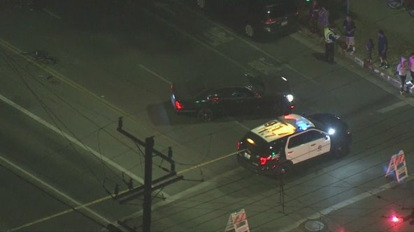 Hit-and-run crash in North Hills sends bicyclist to hospital, driver abandons car