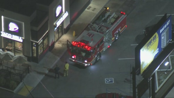 1 person stabbed at Taco Bell parking lot in Whittier