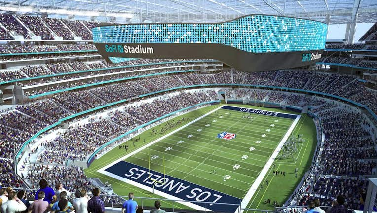 Exclusive Behind The Scenes Tour Of Sofi Stadium New Home Of La Rams And Chargers