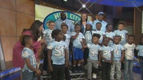 Youth football team from Compton gives thanks to all who contributed to their national championship trip to Florida