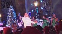 Singer John Legend held free concert at Union Station in DTLA