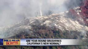 In Depth: Are wildfires in California the new normal