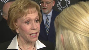 Carol Burnett, other TV legends of comedy honored at Paley Center