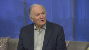 Legendary actor Alan Alda opens up about living with Parkinson's disease, new movie, and shares his own love story
