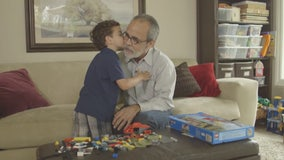 Grandfather's kidney donation gives family voucher for grandson's future transplant
