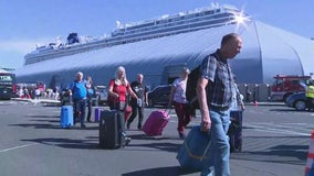 Passengers hospitalized after falling ill aboard cruise ship docked at Port of L.A.