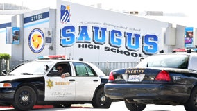 Saugus High students allowed on campus to collect belongings for first time since school shooting