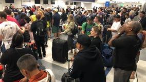 LAX expects another 'Rose Bowl' of travelers Monday evening during peak holiday hours