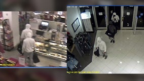 'Smash and Grab' burglary at Santa Ana Macy's store while customers shopped caught on video