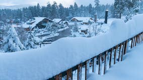 Winter storm dumps 4 feet of snow at Big Bear, causing several road closures