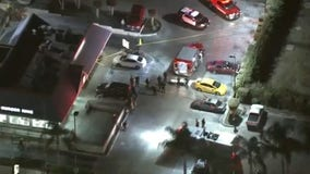 Cab driver stabbed to death in parking lot of Burger King in Downtown L.A.
