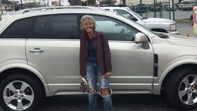 Co-workers surprise woman with car after walking 12 miles to work for months