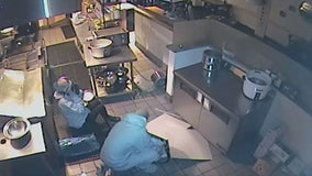Suspects caught on camera burglarizing Ojai business