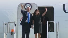 VP Mike Pence arrives in Orange County to make brief fundraising visit