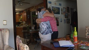 Family reunited with daughter abducted 10 years ago