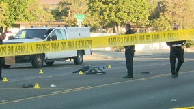 Santa Ana Police searching for hit-and-run driver accused of fatally striking bicyclist