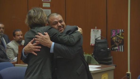 Man wrongfully convicted of robbery spree is found factually innocent after serving 12 years in prison