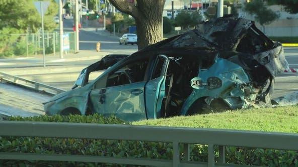 Second girl dies following vehicle crash near Stevenson Ranch