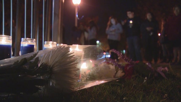 Vigil held for Saugus High School shooting victims